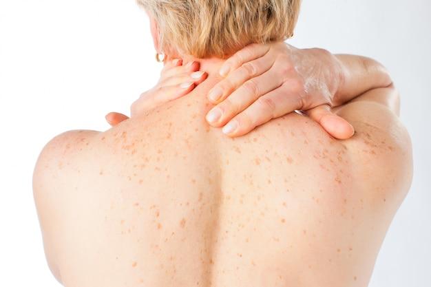 Médecine et maladie - mal de dos