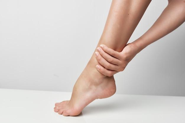 La médecine de la santé des blessures au pied se rapproche des problèmes de santé