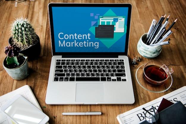 Médias marketing internet numérique mondial