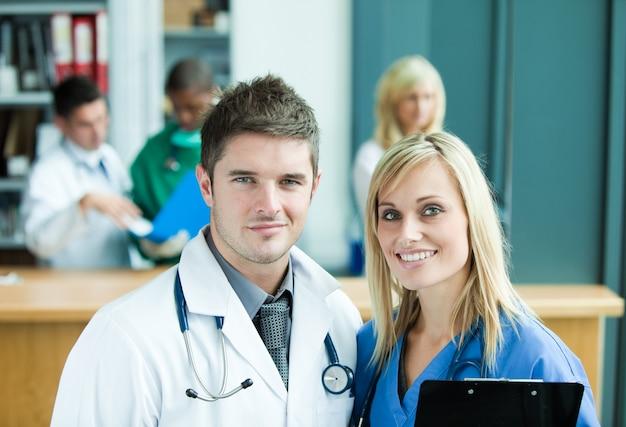 Médical à l'hôpital