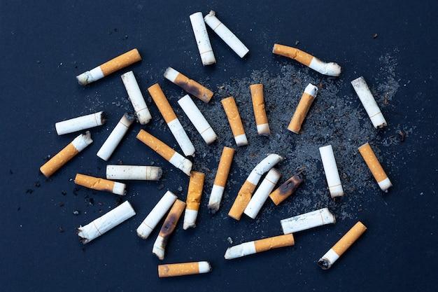 Mégots de cigarettes