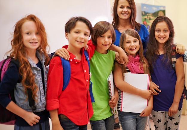 Meilleurs amis de l'école primaire