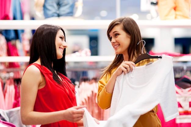 Meilleurs amis shopping