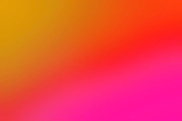Mélange de couleurs chaudes et lumineuses