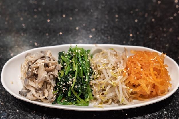 Mélange de légume coréen