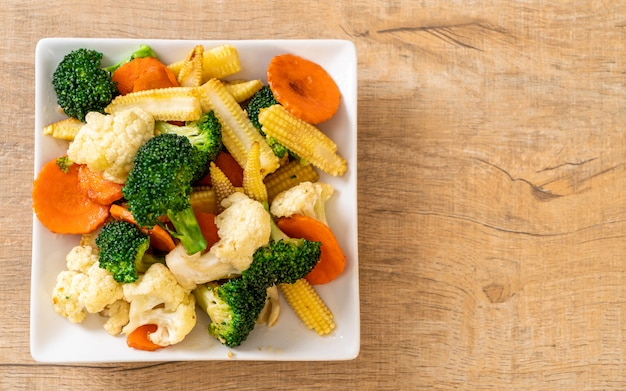 Mélange de légumes sautés
