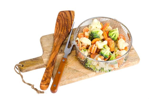Mélange de légumes surgelés