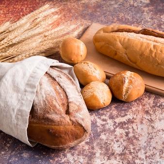 Mélange de pains à angle élevé