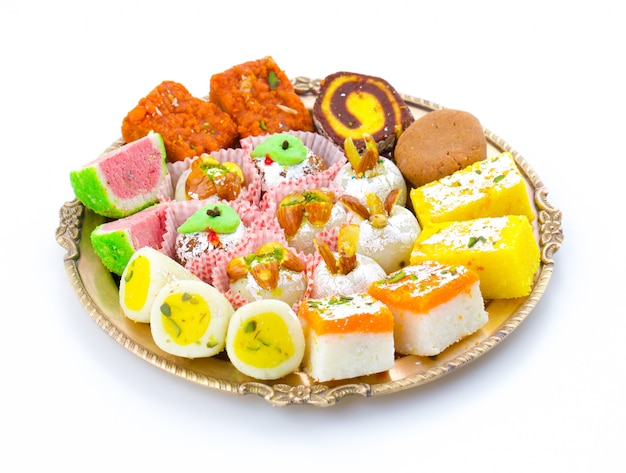 Mélange sucré traditionnel indien