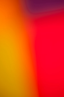 Mélange vif de couleurs