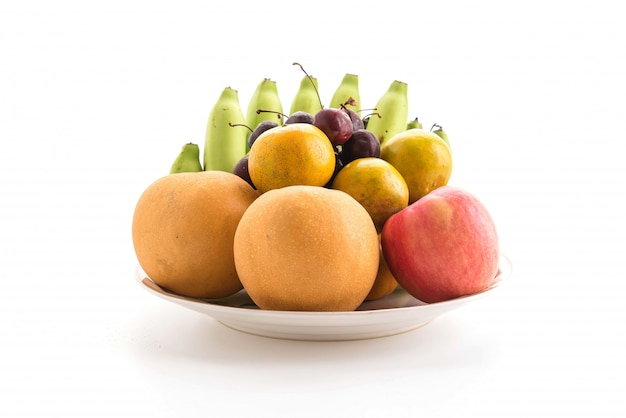 Mélanger des fruits