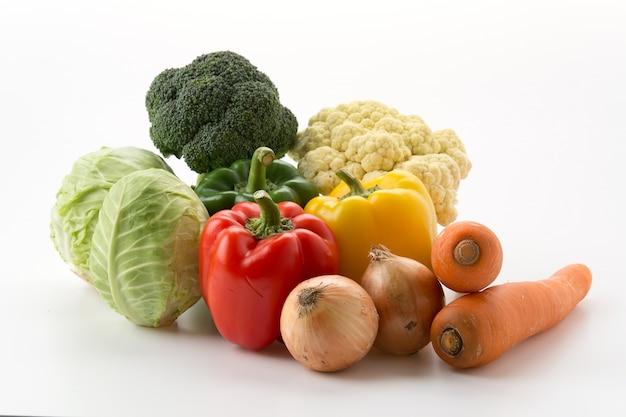 Mélanger des légumes