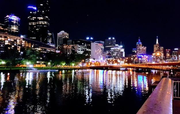 Melbourne la nuit