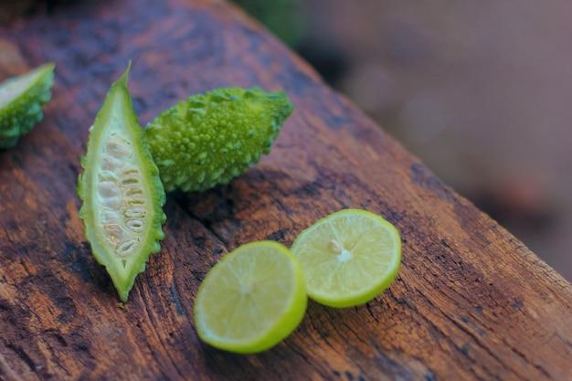 Melon amer vert