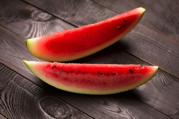 Melon d'eau en tranches