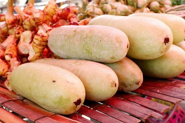 Melon d'hiver au marché