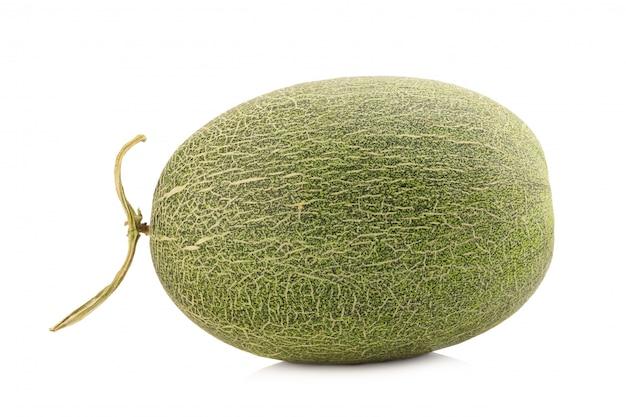 Melon isolé sur blanc