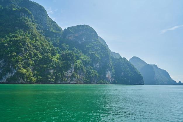 Mer d'andaman, thaïlande