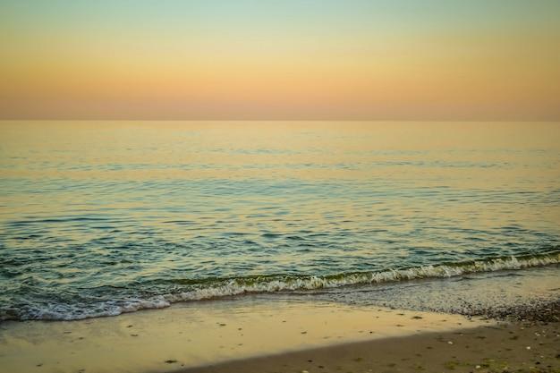 Mer calme le soir et le matin, le filtre