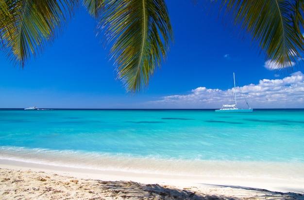 Mer des caraïbes et ciel parfait