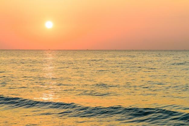Mer lever de soleil