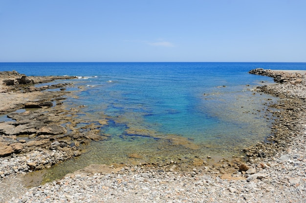 Mer et plage. beau paysage
