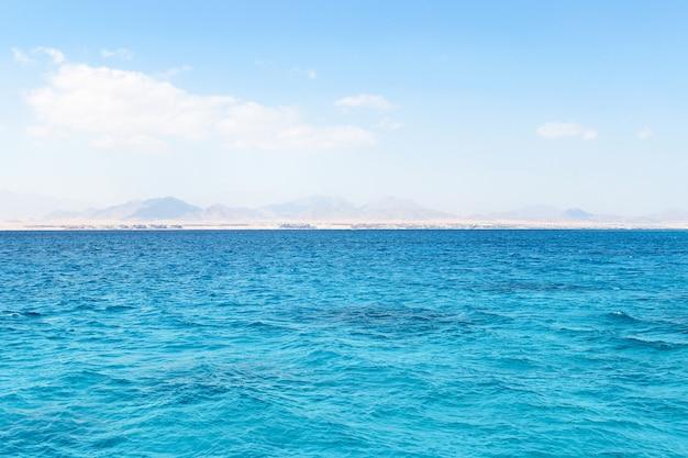 Mer rouge et île de tiran en egypte