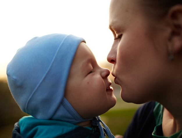 Mère et l'enfant