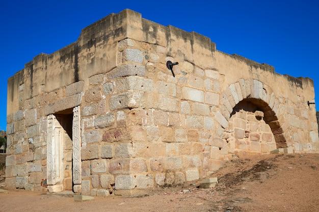 Merida alcazaba en espagne badajoz extremadura