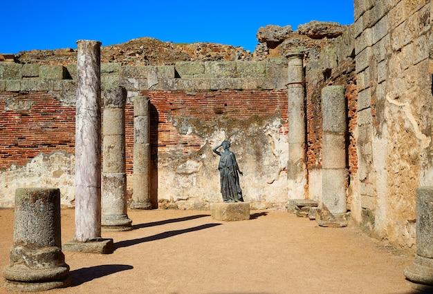 Mérida à l'amphithéâtre romain de badajoz espagne