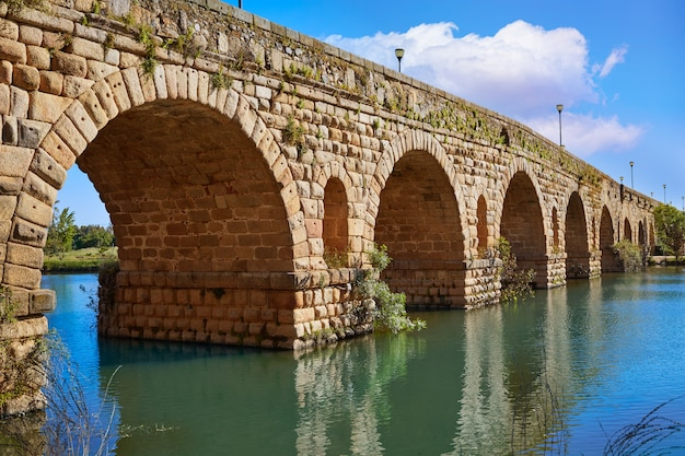 Mérida en espagne pont romain sur guadiana