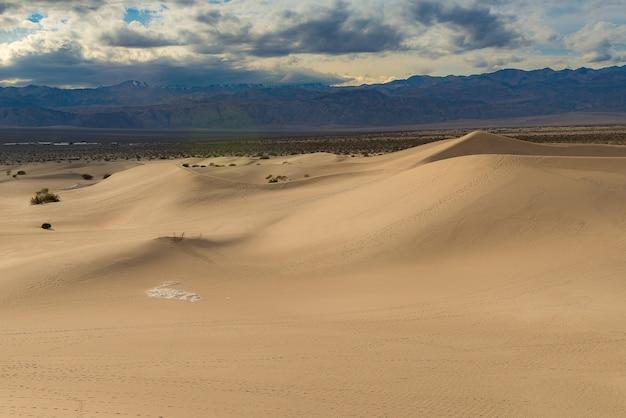 Mesquite flat sand dunes, parc national de la vallée de la mort