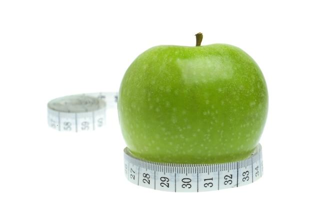 Mesure du concept de régime et pomme