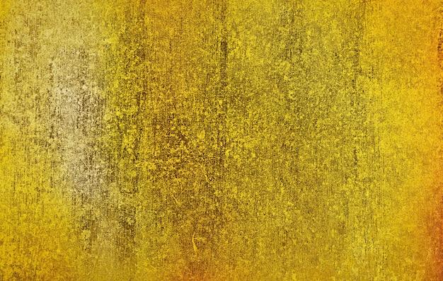 Métal doré avec surface de fond de texture rugueuse pour la conception de fond