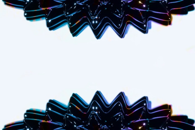 Métal liquide ferromagnétique latéral avec espace de copie