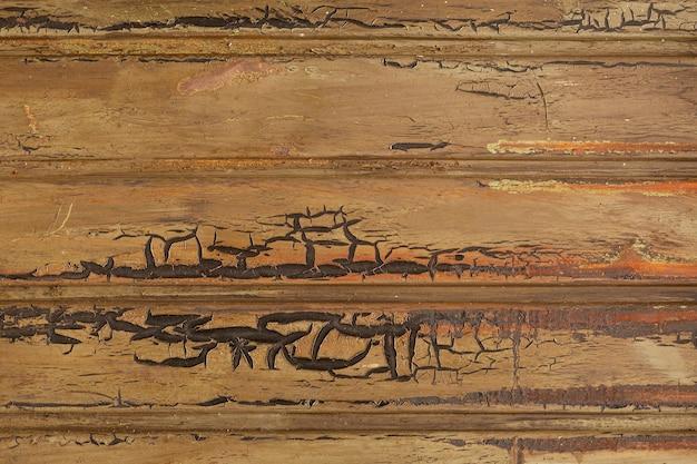 Métal rouillé avec motif horizontal
