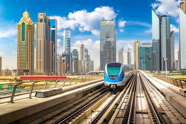 Métro de dubaï, emirats arabes unis