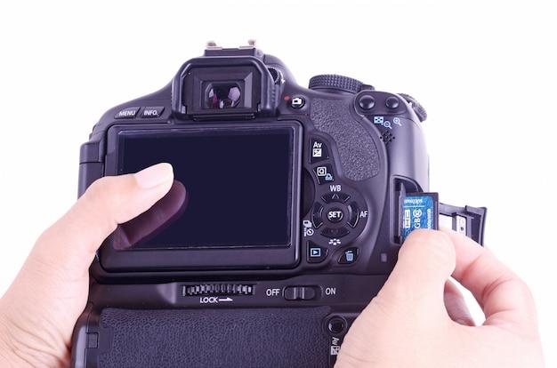 Mettre la mémoire à la caméra