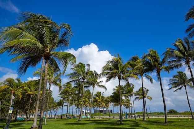 Miami beach ocean boulevard art deco en floride