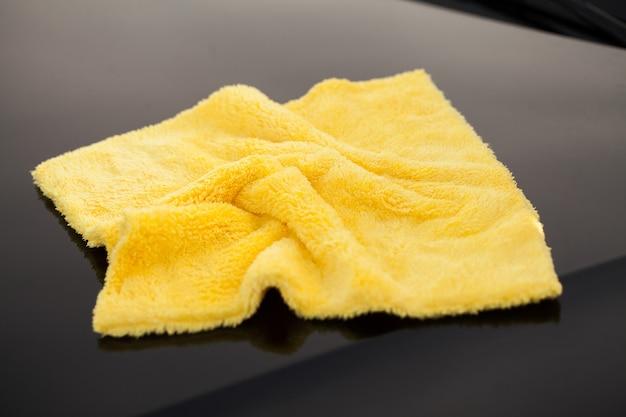 Microfibre pour nettoyer et polir la voiture