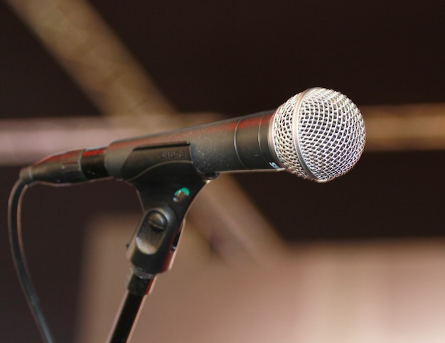 Microphone chanteur