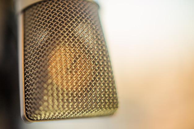 Microphone à condensateur studio