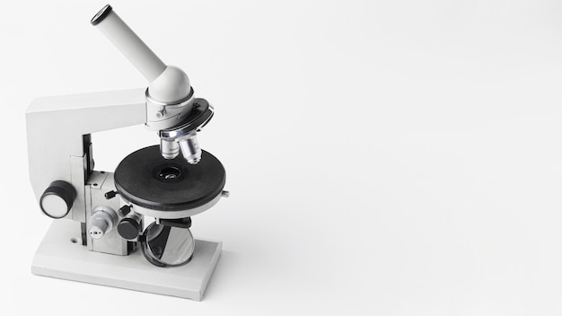 Microscope à grand angle avec espace de copie