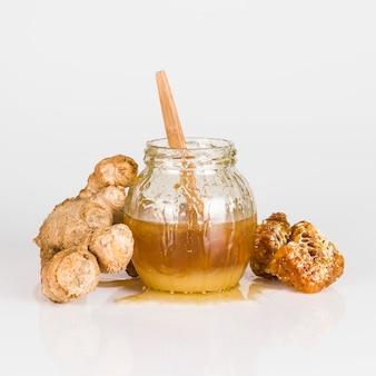 Miel et gingembre
