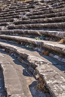 Miletus ancient city and theatre en turquie