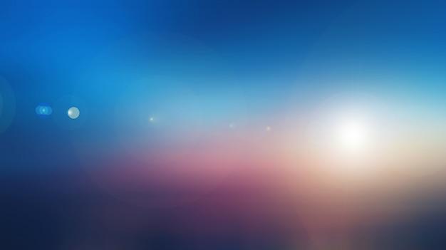 Milieux de ciel abstrait nature floue