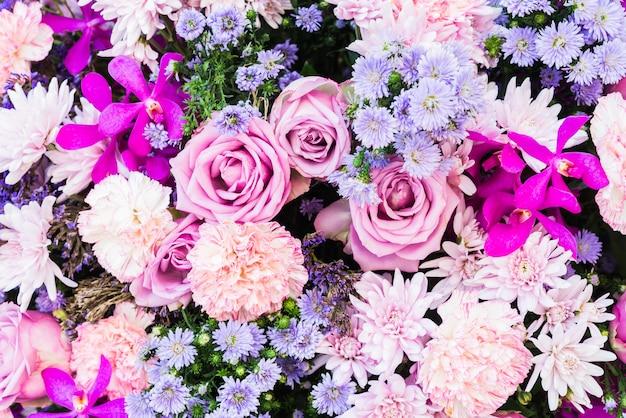 Milieux de fleurs