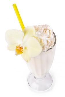 Milkshake sur la table