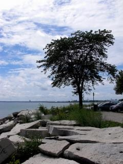 Milwaukee l'eau en bord de mer,