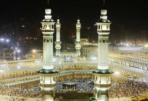 Minarets de makkah kaaba